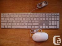 HOLD!  As it says, New APPLE keyboard and mouse. Still