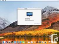 "Apple iMac, 21.5"" screen running High Sierra. Specs: -"