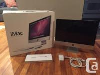 I am selling my used 21.5-inch iMac in ideal working