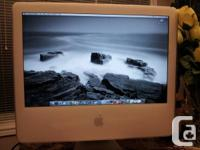 Apple iMac G5 for sale. It is in great cosmetic for sale  Ontario