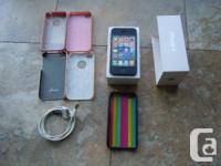 Apple iPhone 4 8gb with Bell. Also heard the phone can