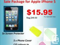 Apple iPhone 5/5S Sale Package  Includes:  5 ea  -