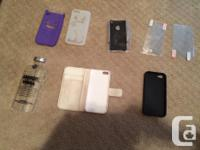 Apple IPhone cases and screen protectors for only $2-$5