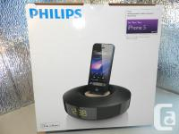 APPLE IPOD 7 (16gb) & PHILLIPS DOCKING STATION DS1155
