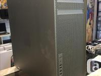 We have an Apple Mac Pro Tower. Specifications: OS X