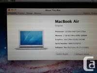 Good Day, For sale I have a Macbook Air with a 13 inch