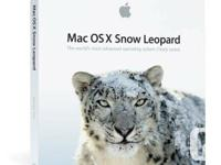 Authentic Apple OS System Discs.  Snow Leopard 10.6 and