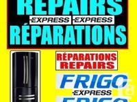 MONTREAL LAVAL LONGUEUIL refrigerator fridge repair