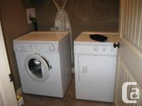 Frigidaire Front load Washer & Dryer 3.1 cubic feet ,4
