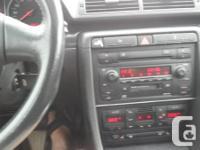 2003 Audi A4 Quattro 1.8 automatic transmission, 147K