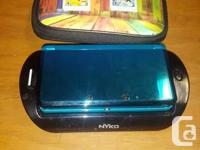 I'm selling my Aqua Blue 3DS with the Nyko Battery Pack