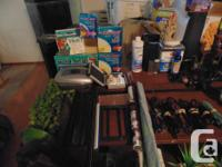 Selling what I have left of aquarium stuff, i have