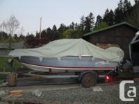 16.5 ft. Aquastar Bowrider with 150hp Mercury engine