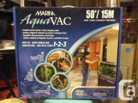 New in box never opened 50' Marina AquaVAC system.