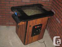 Used, I'm selling this arcade cocktail table. It plays 60 of for sale  Ontario