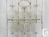 Large selection of Antique Architectural Wrought Iron