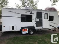 Well cared for 4-season camper Aluminum frame with all