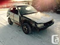 Make. Toyota. Model. Corolla. Year. 2001. Colour.