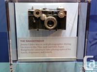 Argus C3 Rangefinder Camera: Great condition with case,