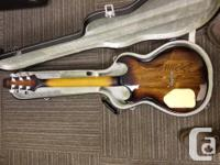 Built between 1981 and 1983. Carved Ash Body, maple