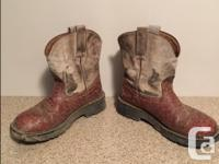 Ladies Size 8B (fit more like an 8.5). Could use a good