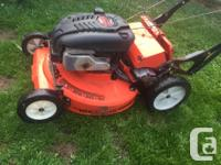 Ariens Bagger-Vac lawn more self propel good solid lawn