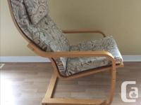 This arm chair is in great condition. I sell both, the