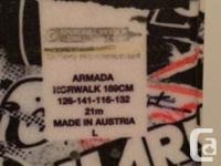 Armada Norwalk powder/all-mountain Ski�s for sale. A