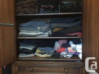 Spacious armoire in good condition, with two full
