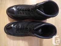 Police / Army style boots (HIGH POLISH by hand)   $40: