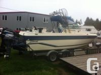 ALL RIGGED OUT FOR ANGLING AND ALSO WATERCRAFT IS 21