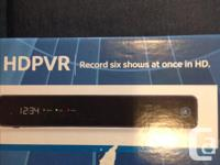 HD PVR, 3D capable. 500 GB hard drive. Record up to 6