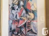 Colourful piece by famed artist Pablo Picasso called