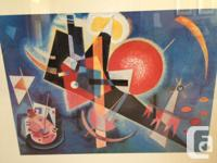 By famous Russian painter, Wassily Kandisky. Bought at