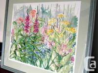 Art - Wild Flowers #1 - Original Watercolour by Raija