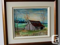 Original oil painting on canvas No titled but an