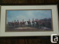 """Artwork from Bombay & Co. Size 46.5"""" wide by 27.5"""""""