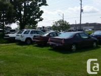 We have 8 used vehicles we're selling AS-IS and have