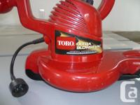 I have a as new Toro Ultra Blower/Vac for sale. Machine