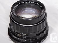 Asahi Pentax 6x7 Medium Format SLR Film Camera in good
