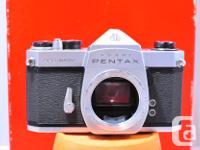 Here is a great older PENTAX. All metal, and all