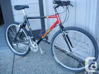 Asama Raven 21 speeds mountain bicycle, alloy tires