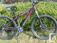 Asama Canyon mountain bike moderately used for less