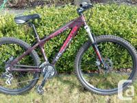 Asama Canyon mountain bike moderately used for less