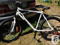 """Asama Outback Trail Bike - Men's 21"""" frame, 24 speed"""