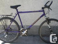 """Ascente - Spearhead - tall frame with 26"""" tires This"""