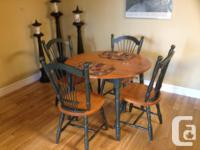 Ash Wood is a very hard wood Round Table Converts into