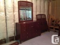 Ashley bedroom established in exceptional condition.