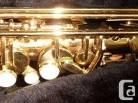 Ashiya Alto Saxophone. Average condition, some minor
