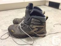 ASOLO HIKING BOOTS Tread is worn but still lots of life